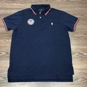 Polo Ralph Lauren USA Olympics Polo Shirt L